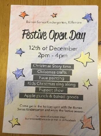 Festive Fun Day Poster