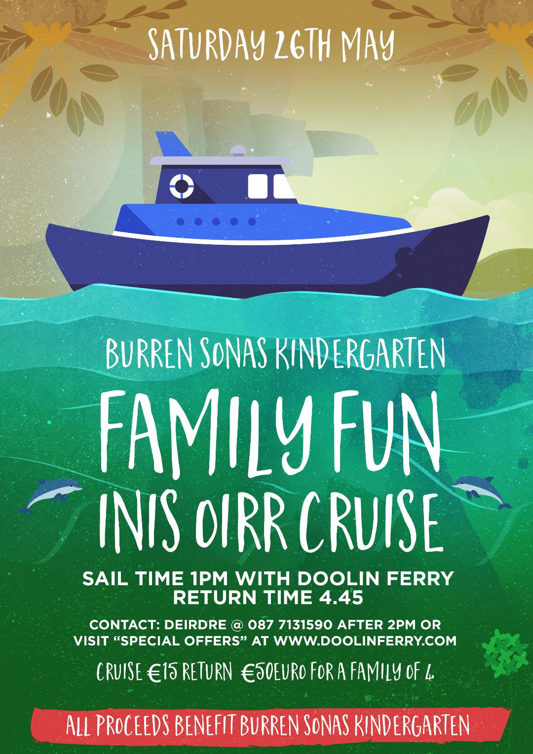 Family Fun on Inis Oirr with Doolin Ferry